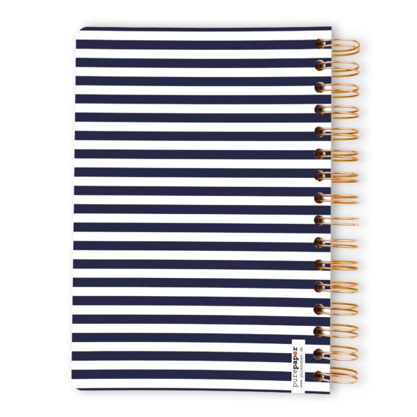 Purepaper Block Blue Lines