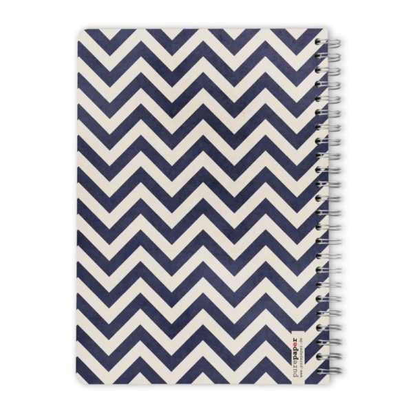 Purepaper Block Blue Chevron
