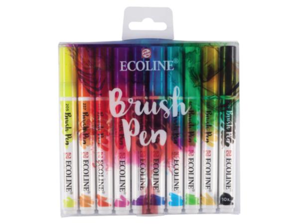 Ecoline Brush Pen Set Basic Farben