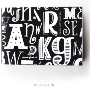 Paperfuel Hand Lettering Block A6