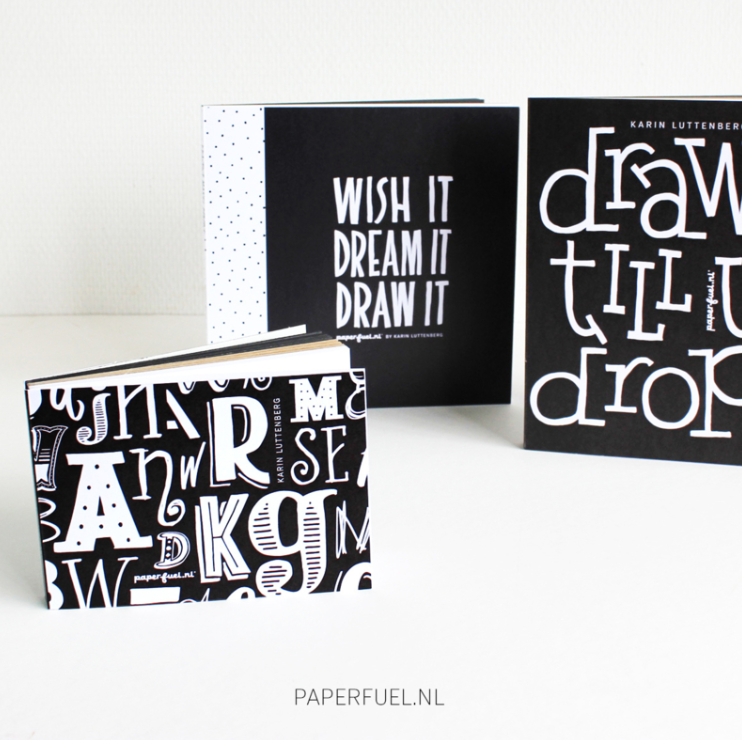 Paperfuel Hand Lettering Block 20x20