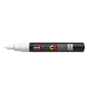 Uni Posca Stift weiß PC-1M