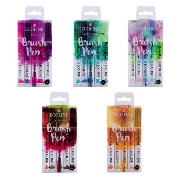 Ecoline Brush Pen 5er Sets