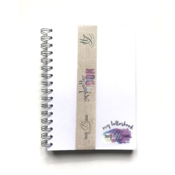 """Northpaper Block """"My Letter Book"""""""