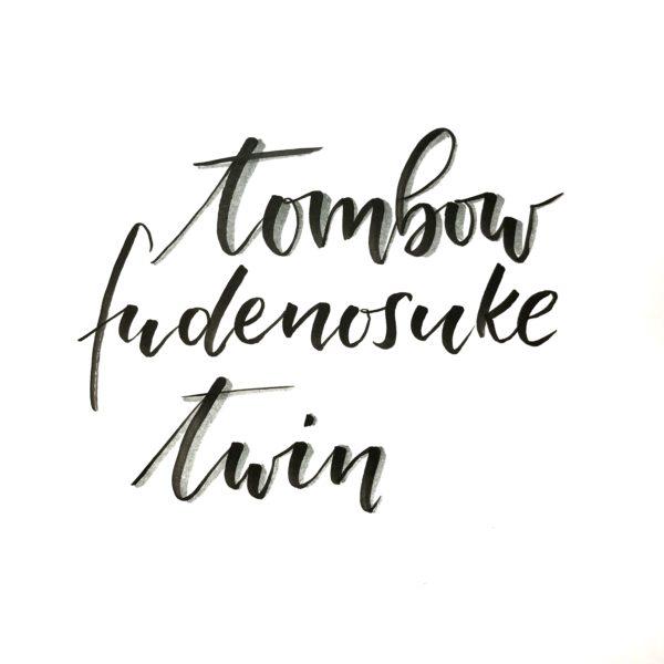 Tombow Fudenosuke Twin