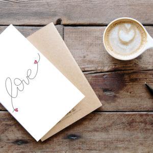 "Printable ""Love"""