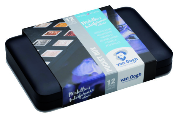 Van Gogh Pocket Box Metallic Aquarell