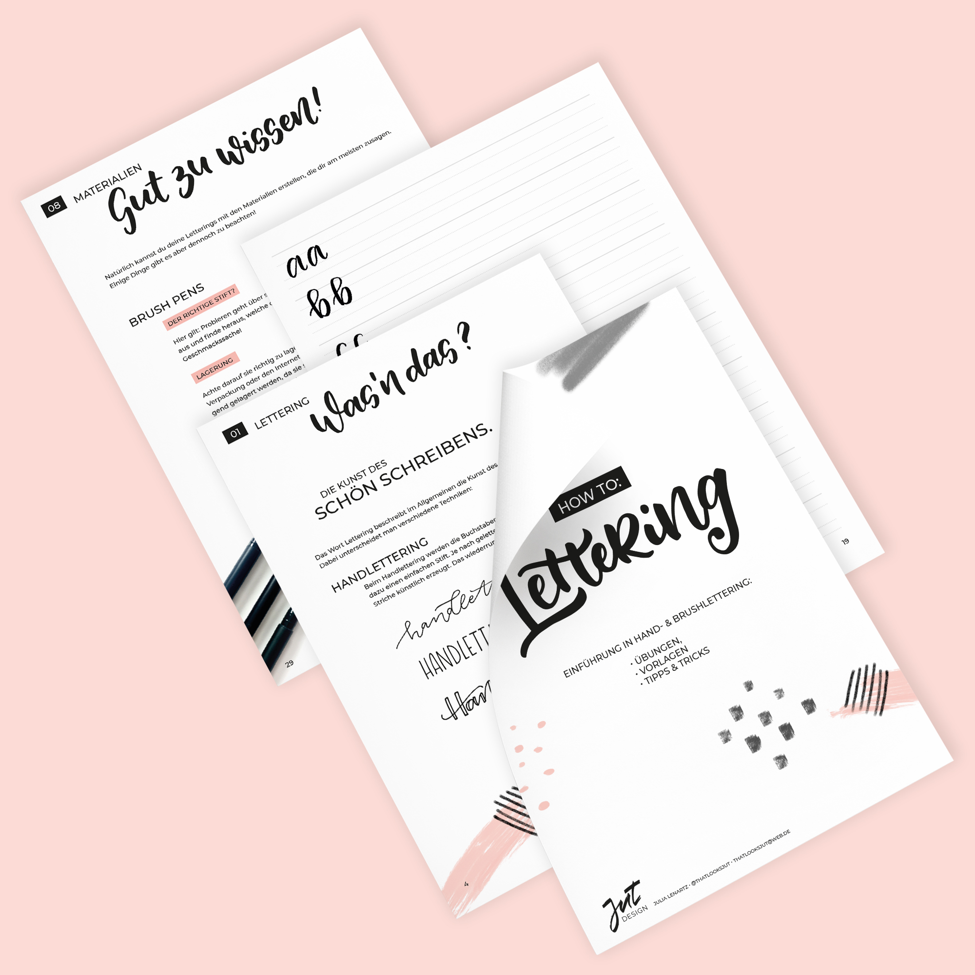 Lettering Guide von @thatlooksjut