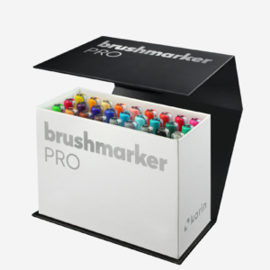 BrushmarkerPRO 26er Box Brush Pens