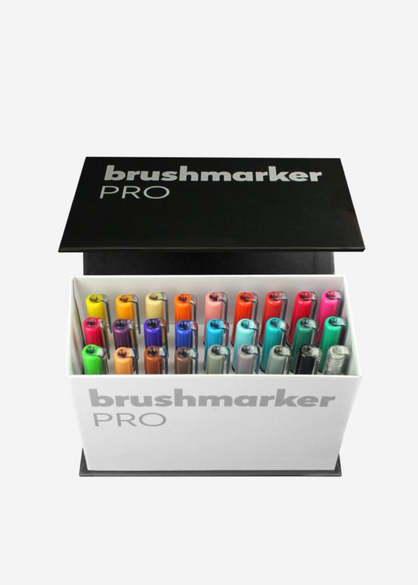 BrushmarkerPRO 26er Box Brush Pens