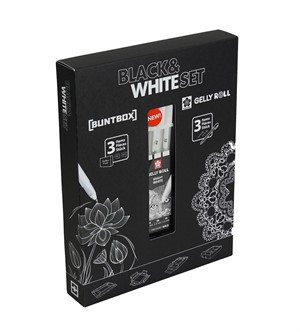 Buntbox Black & White Set