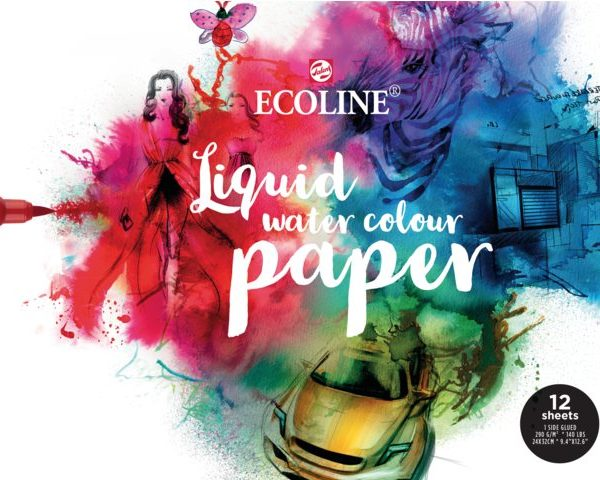 Ecoline Aquarell Block