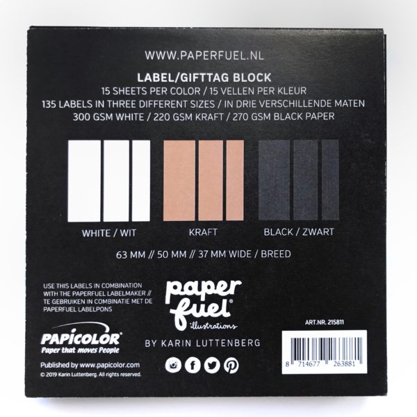 Paperfuel Label Block