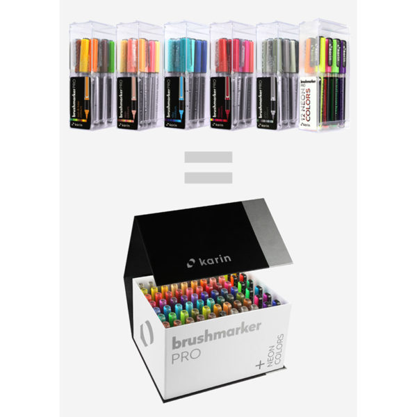 Brushmarker Pro Mega Box plus Neon