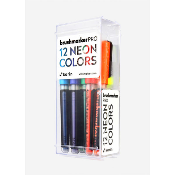 Neon Brush Pen 12er Box