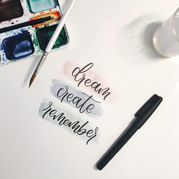 Pentel Brush Pen Pigment
