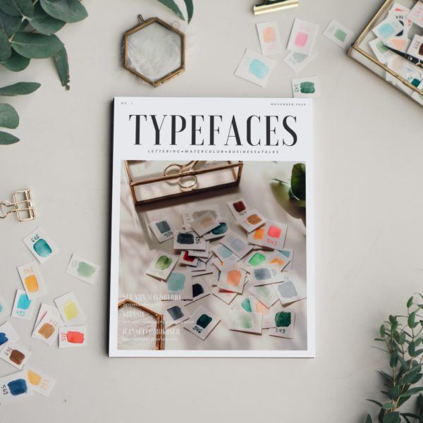 Handlettering Magazin Typefaces