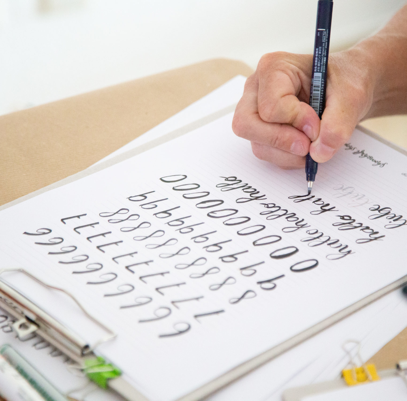 Lettering lernen