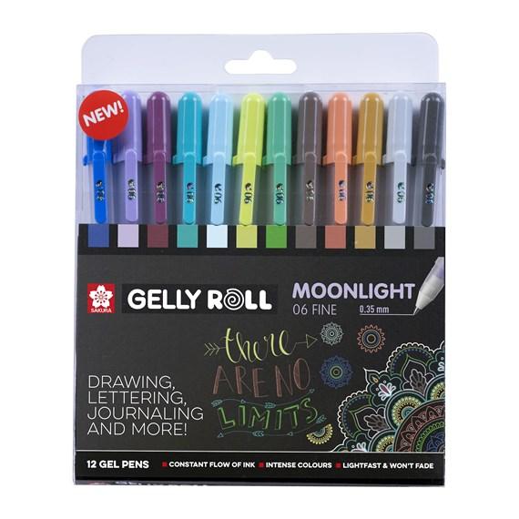Sakura Gelly Roll Moonlight 12er Set