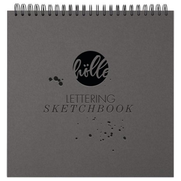Frau Hölle Lettering Sketchbook