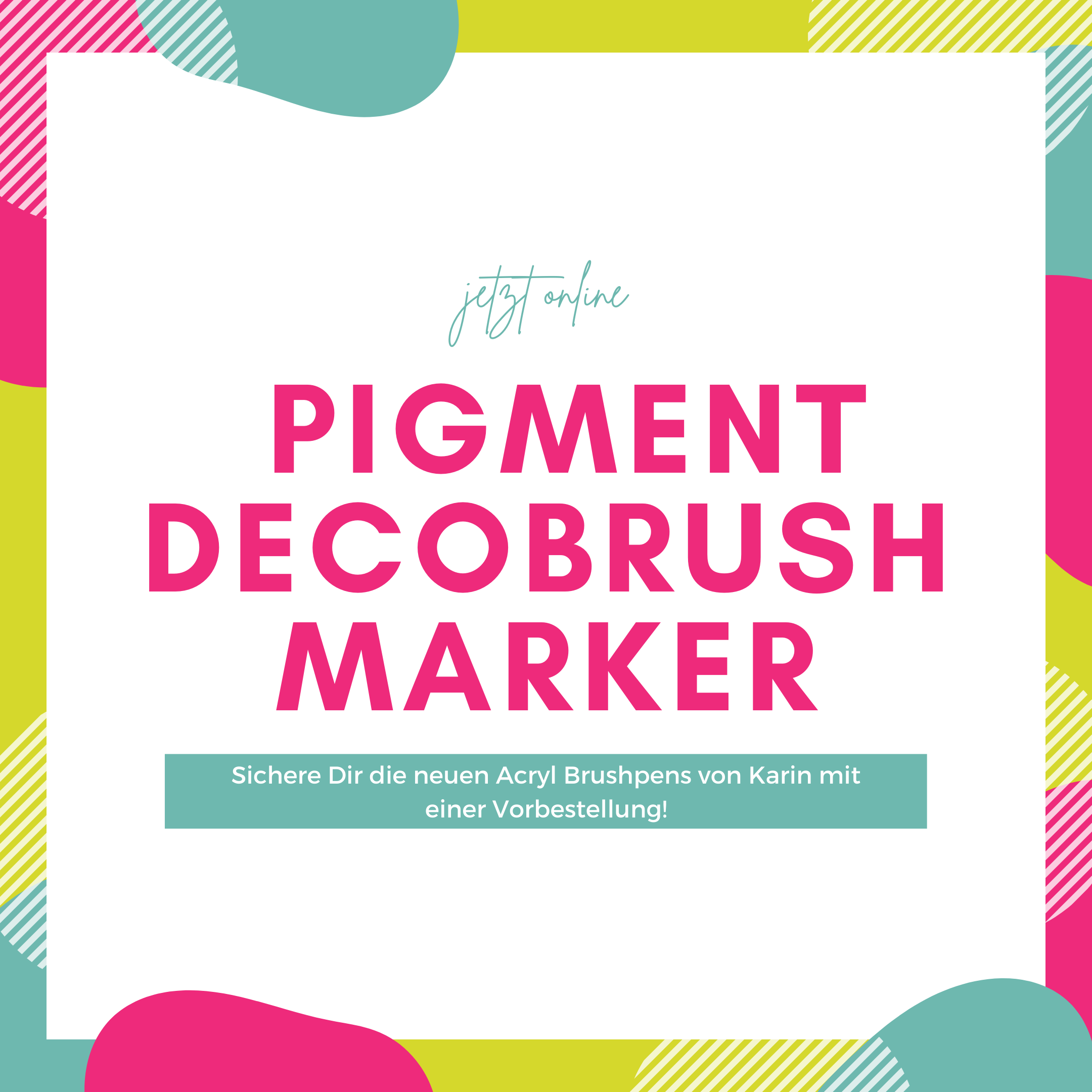Pigment DecoBrush Marker